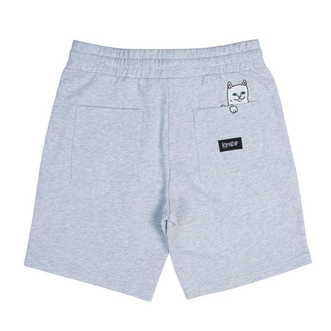 RipNDip PEEKING NERM SWEAT SHORTS -GREY