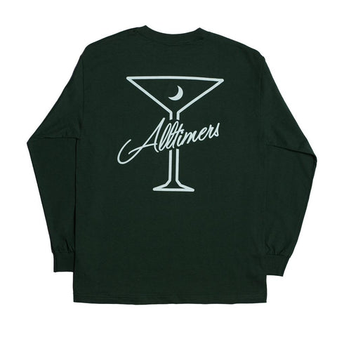ALL TIMER LATE LS TEE -GREEN