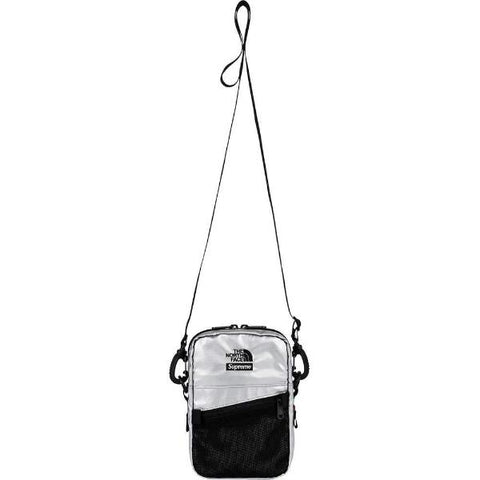 SUPREME TNF META SHOULDER BAG -SILVER