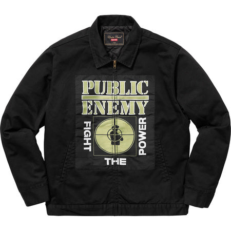 SUPREME UPE WORK JACKET -BLACK