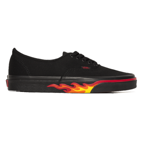 Vans UA AUTHENTIC FLAME WALL -BLACK