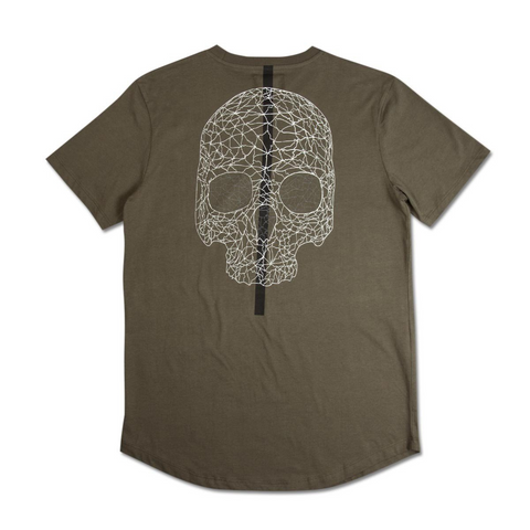 KING APPAREL CLAPTON TEE -OLIVE