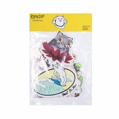 RipNDip SUMMER 18 STICKER PACK -MULTI