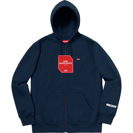 SUPREME WINDSTOPPER ZIP UP HO SW -NAVY