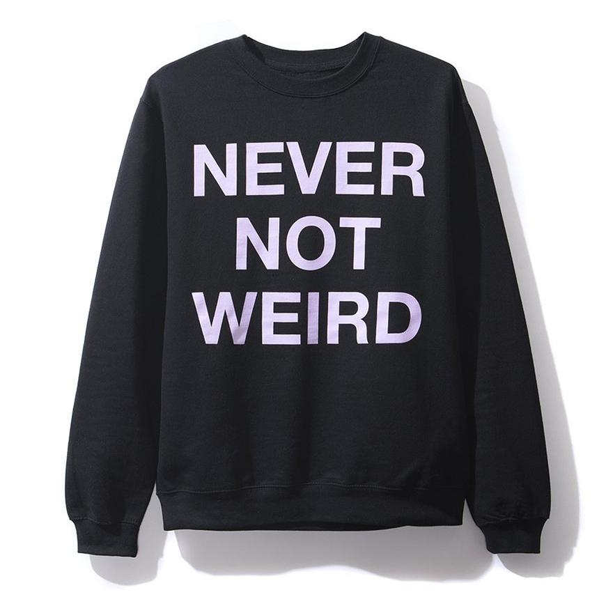 AntiSocialSocialClub NEVER NOT WEIRD BLACK CW -BLACK