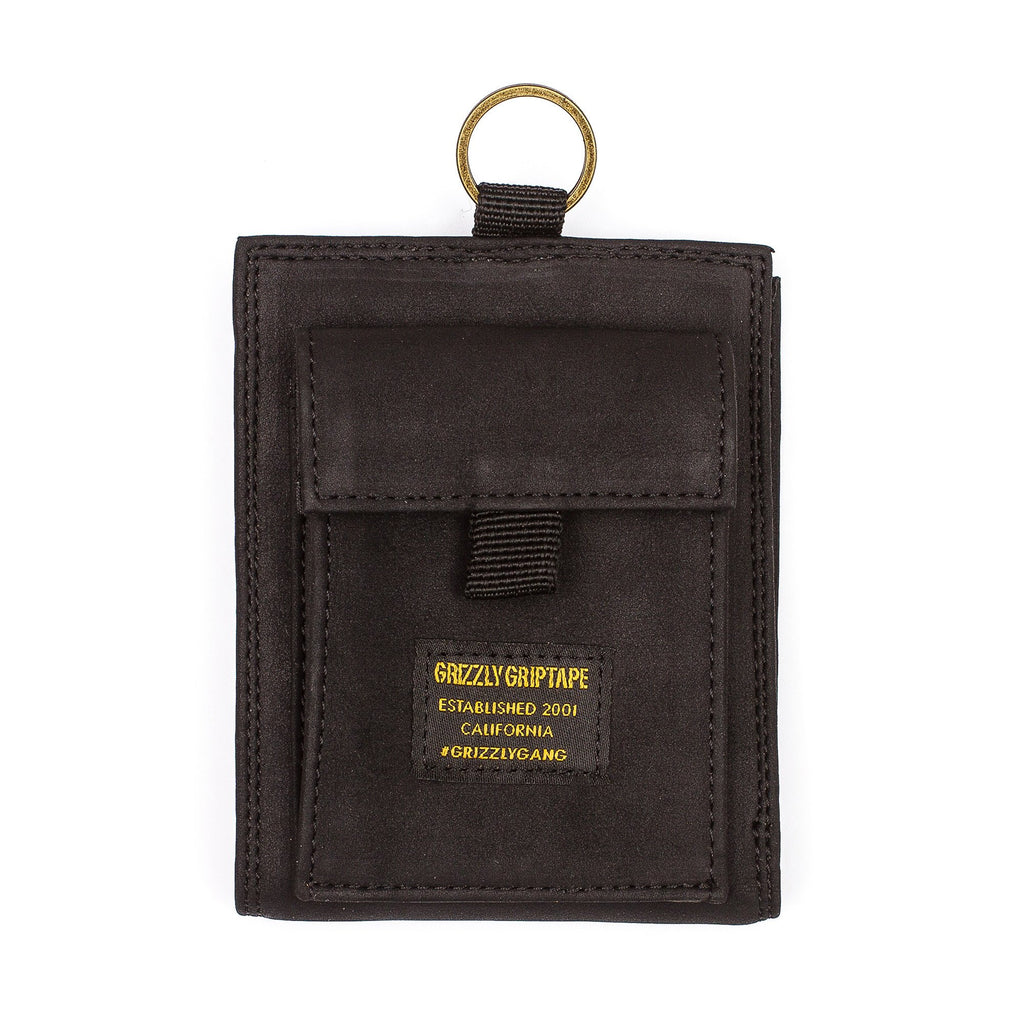 GRIZZLY GGC WALLET -BLACK