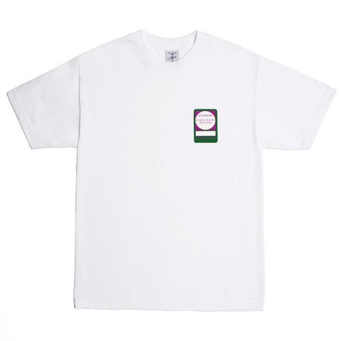 ALL TIMER PASS TEE -WHITE
