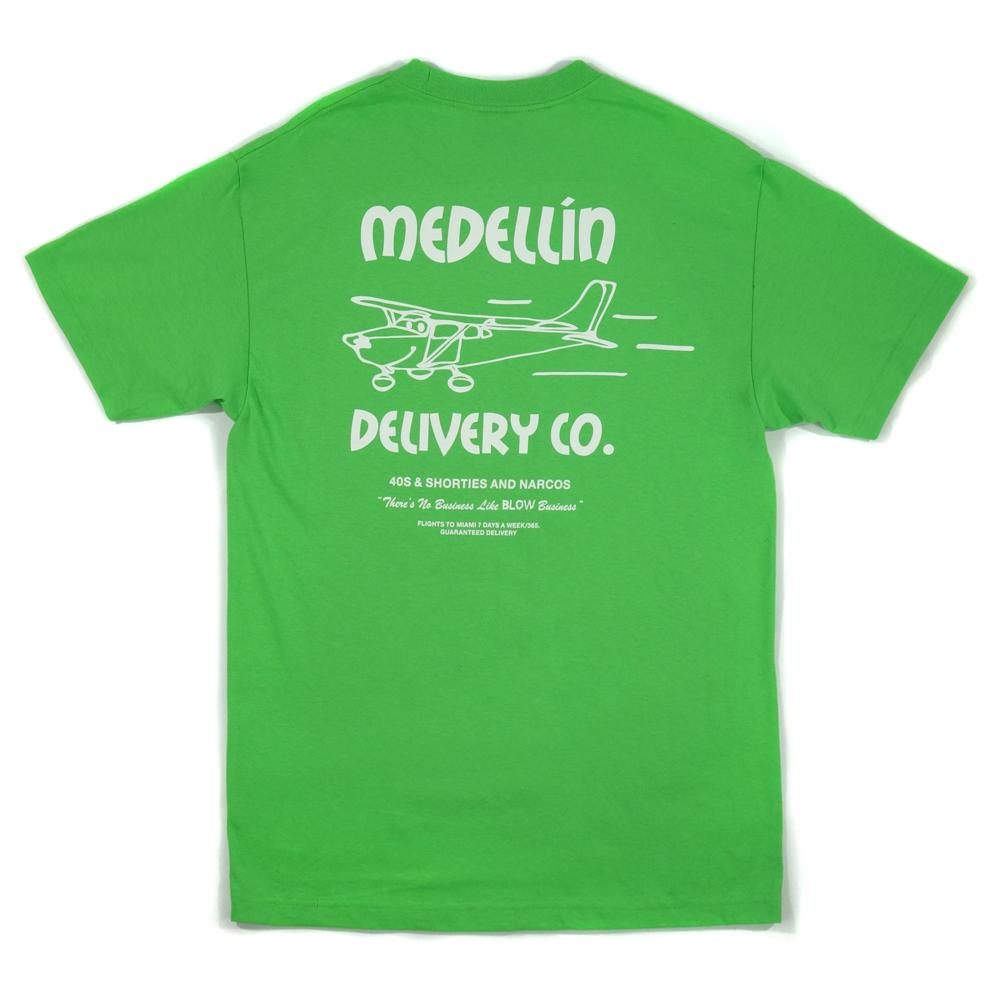 40'S AND SHORTIES DELIVERY TEE -GREEN