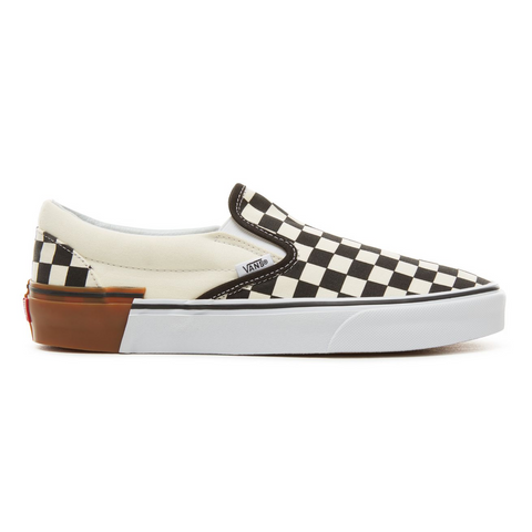 Vans UA CLASSIC SLIP-ON GUM BK -CHECKER