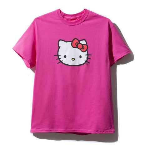AntiSocialSocialClub HELLO KITTY TEE -PINK