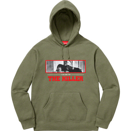 SUPREME THE KILLER HO SW -OLIVE