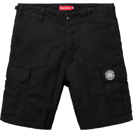 SUPREME Spitfire Cargo Short -BLACK