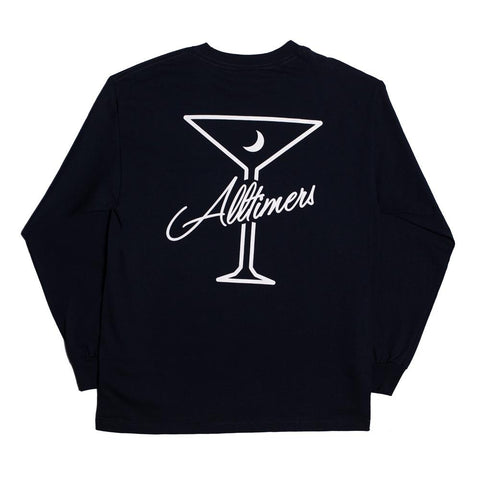 ALL TIMER LATE LS TEE -NAVY