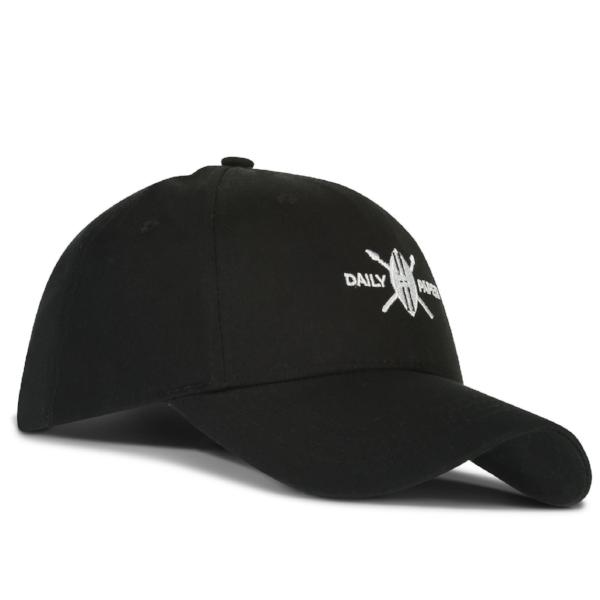 DAILY PAPER SHIELD LOGO CAP -BLACK