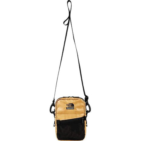 SUPREME TNF META SHOULDER BAG -GOLD