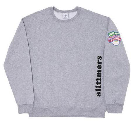 ALL TIMER HOME RUN CREW -GREY