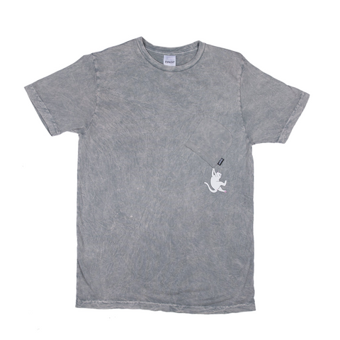 RipNDip HANG IN THERE TEE -GREY