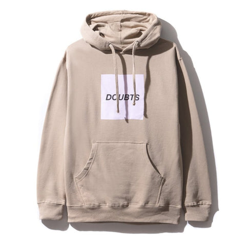 AntiSocialSocialClub DOUBTS SAND HOODIE -TAN