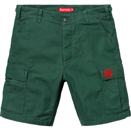 SUPREME SPITFIRE CARGO SHORT -GREEN