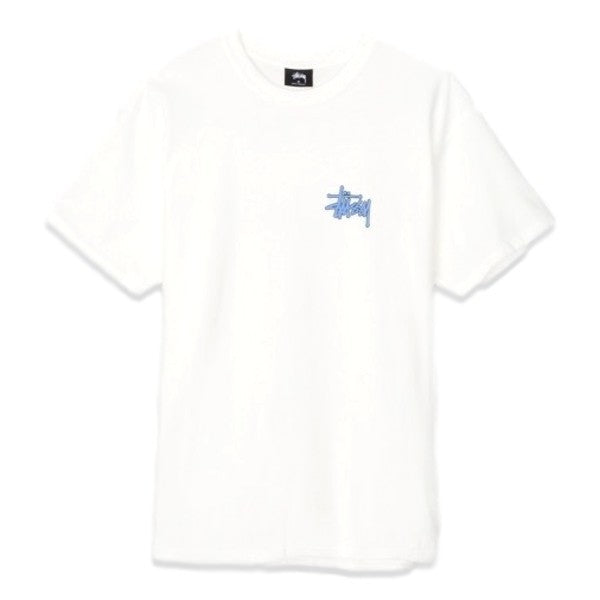 Stussy PUFF STOCK PIG. DYED TEE -NATURAL