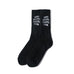 AntiSocialSocialClub BLACK SOCKS -BLACK