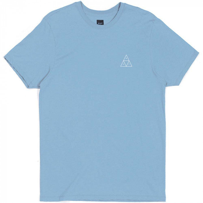 HUF ROSES TRIPLE TRIANGLE TEE -LIGHT BLUE