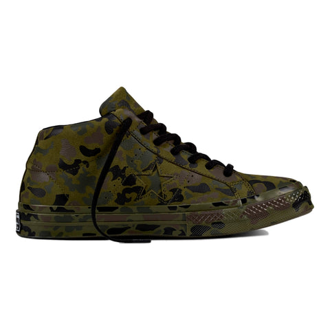 CONVERSE ONE STAR MID -CAMO