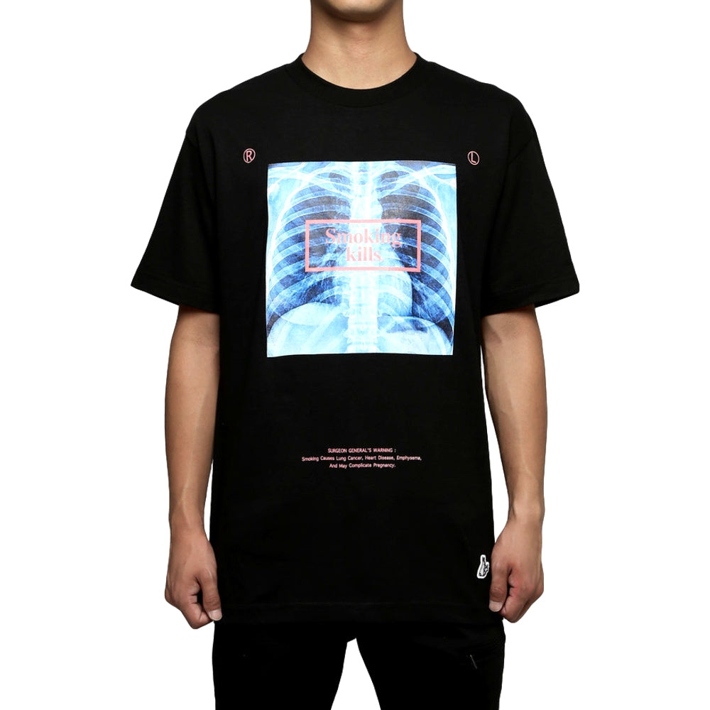 FUCKING RABBIT X-RAY TEE -BLACK