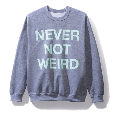AntiSocialSocialClub NEVER NOT WEIRD GREY CW -GREY