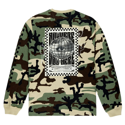 10Deep DEST UNKNOWN L/S -CAMO