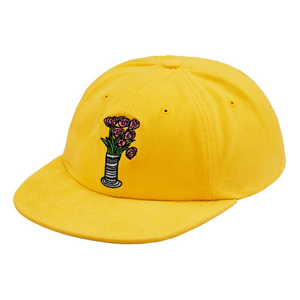 SUPREME FLOWERS 6-PANEL -YELLOW