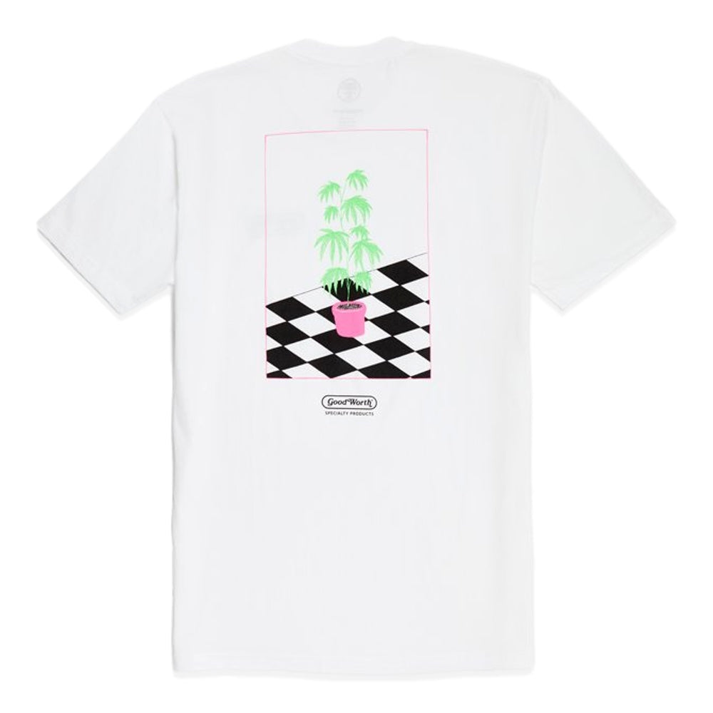 GOOD WORTH LIFE PLANT TEE -WHITE