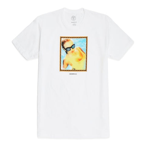 GOOD WORTH TRACI TEE -WHITE