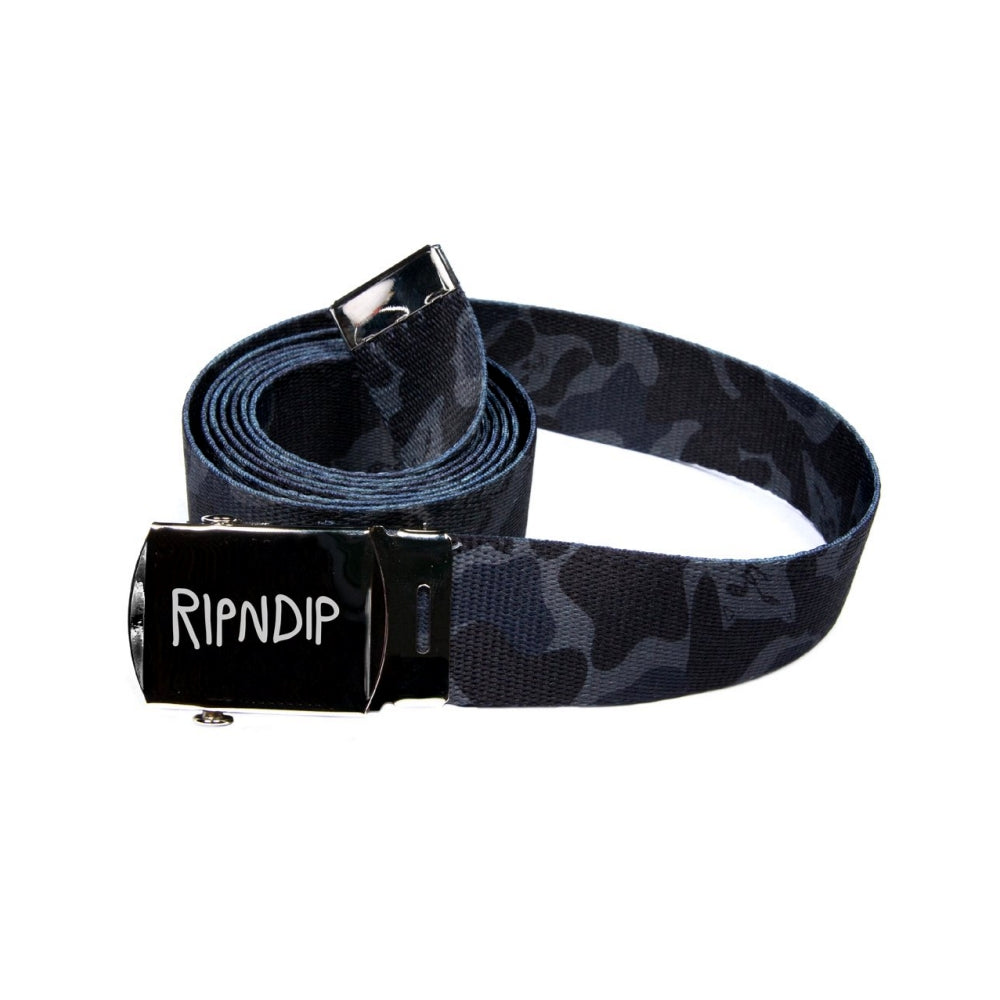 RipNDip NERM CAMO WEB BELT -BLACK