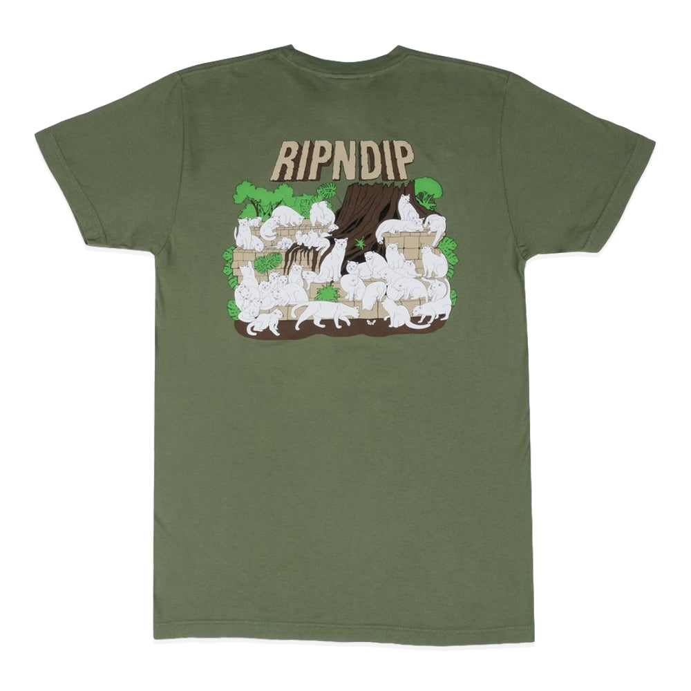 RipNDip NERM FORREST TEE -OLIVE