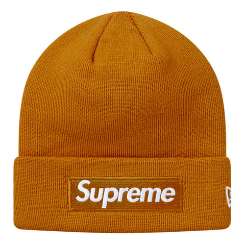 SUPREME NEW ERA BOX LOGO BN -BROWN