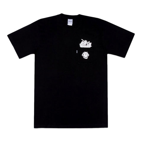 RipNDip STUFFED TEE -BLACK