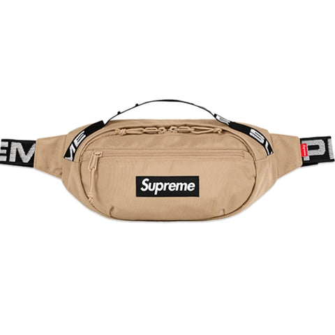 SUPREME WAIST BAG -TAN