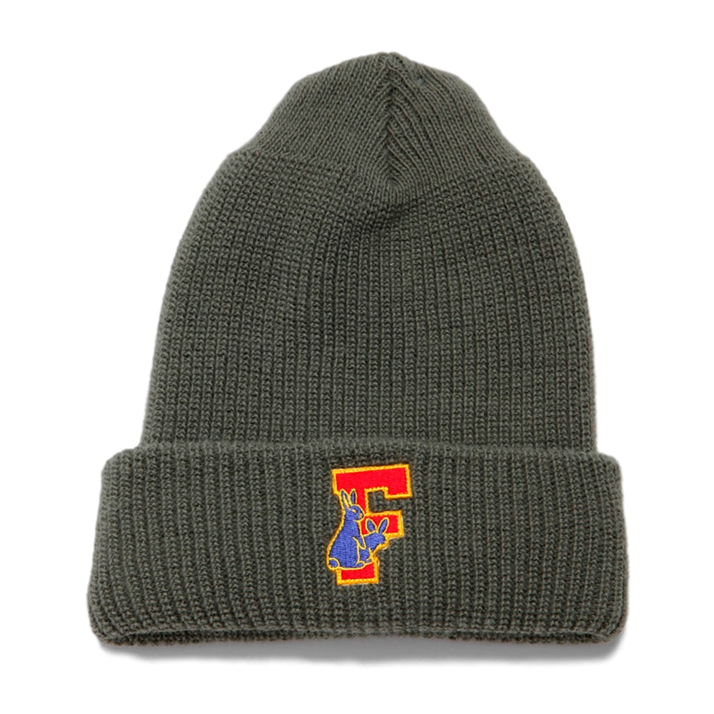 FUCKING RABBIT RABBIT'S FOOT BEANIE -GREY