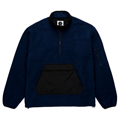 POLAR GONZALEZ FLEECE JK -BLACK/BLUE