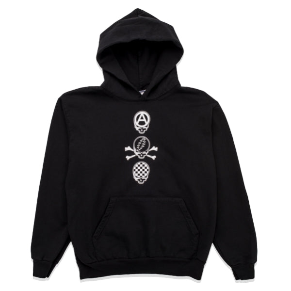 PLEASURES DEAD CREW PREMIUM HD -BLACK