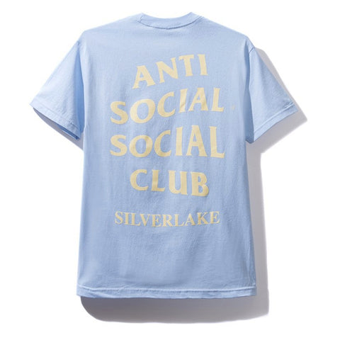 AntiSocialSocialClub SILVERLAKE TEE -LIGHT BLUE