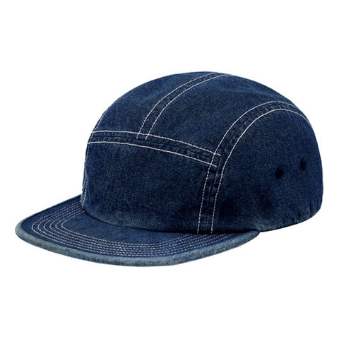 SUPREME FITTED REAR PATCH CAMP CP -DENIM