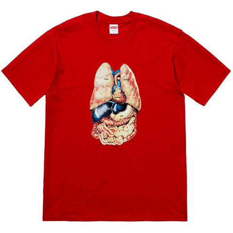 SUPREME GUTS TEE -RED