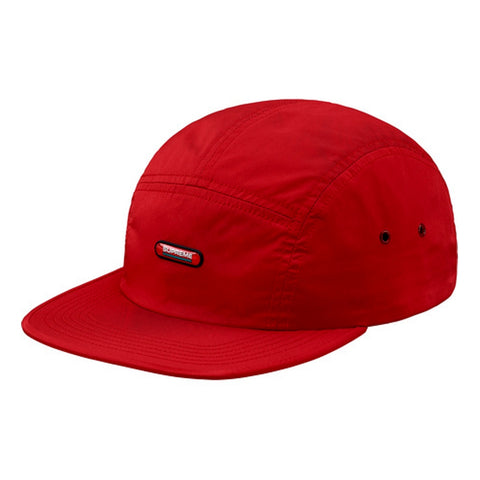 SUPREME CLEAR PATCH CAMP CAP -RED