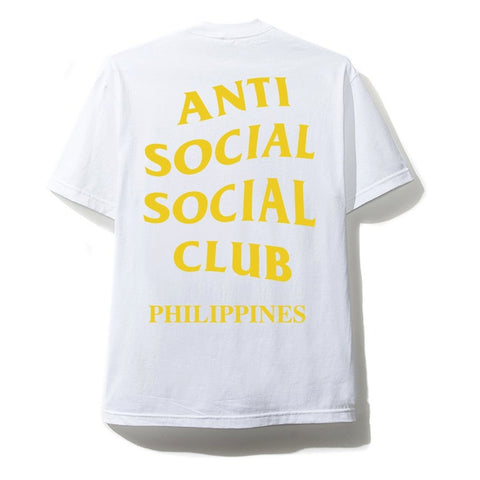 AntiSocialSocialClub CITY TEE - PHILIPPINES -WHITE