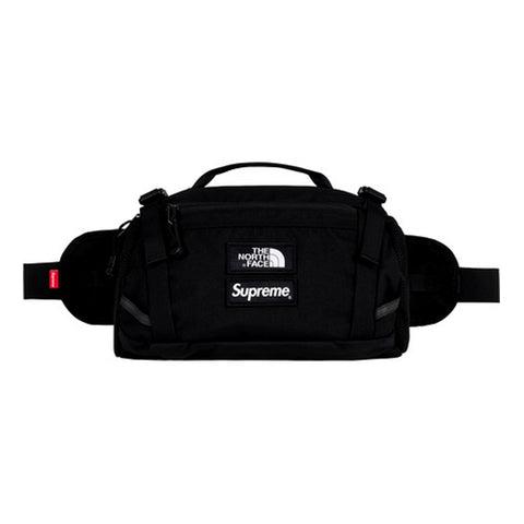 SUPREME TNF EXP WAIST BAG -BLACK