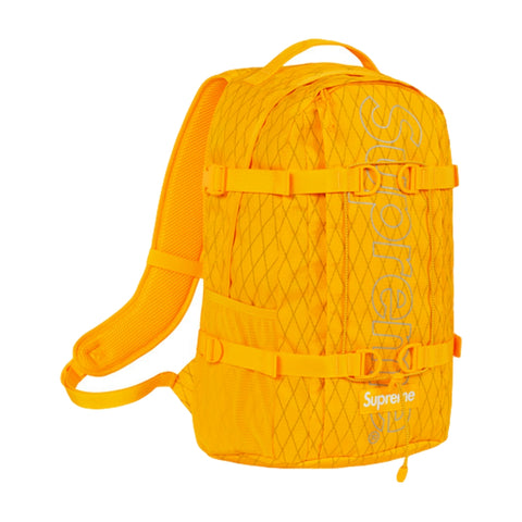 SUPREME BACKPACK -YELLOW
