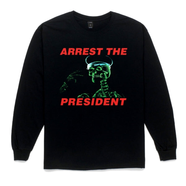 10Deep ARREST T PRESIDENT LS TE -BLACK