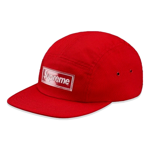 SUPREME NYLON PIQUE CAMP CAP -RED